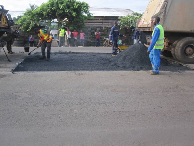 National Road No 3 : maintenance works for better road traffic